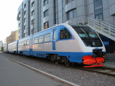 Рельсовый автобус РА-2. Фото РЖД