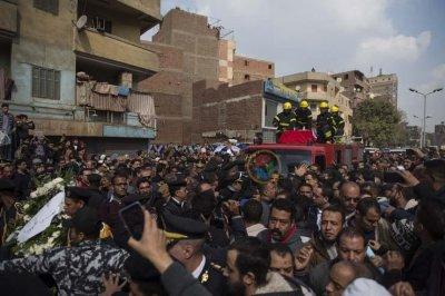 Похороны одного из погибших офицеров, фото Masrawy.com