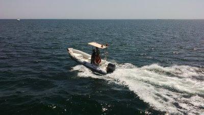 Сопровождение прогулочного судна