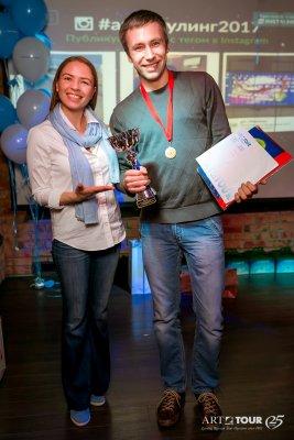 Победитель боулинг-турнира Константин Ермолаев