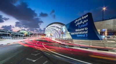 Фото официального аккаунта аэропорта Дубая в Twitter