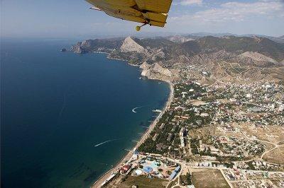 Вид на Судак. Фото туристического портала Крыма