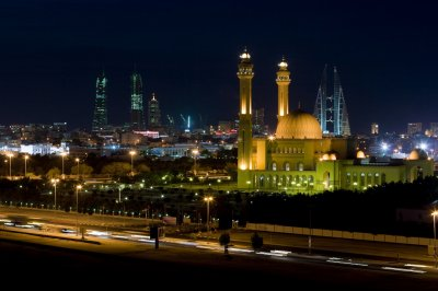 Ночная Манама, Бахрейн
