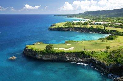 Гольф-поля с видом на море, Доминикана