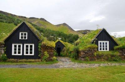 Исландия. Деревня Скоугар