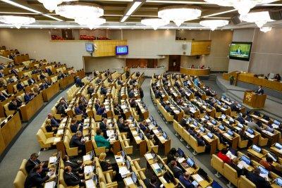 Правительственный час в Государственной Думе. Фото с сайта Минсвязи РФ