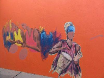 Графити в Гамбии