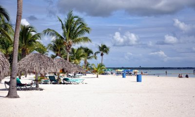 Один из пляжей курорта Бока-Чика