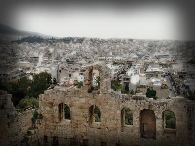 Вид на Афины. Экскурсия в Акрополь