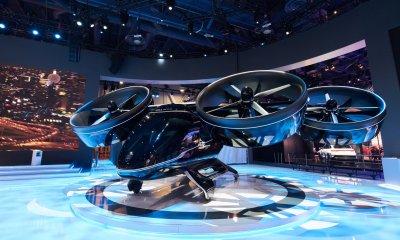 Nexus на Международной выставке потребительской электроники CES 2019 в Лас-Вегасе. Фото Bell Helicopter