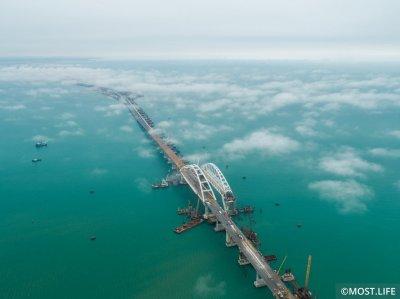 Фото most.life. Фарватерный участок строительства Крымского моста