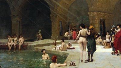 Жан-Леон Жером— Большая турецкая баня в Бурсе