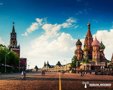 Красная площадь и Александровский сад (пешеходная)