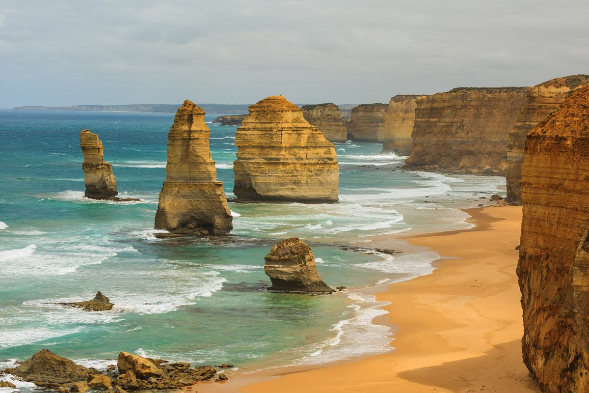 Лучшая экскурсия из Мельбурна по Великой океанской дороге на полный день