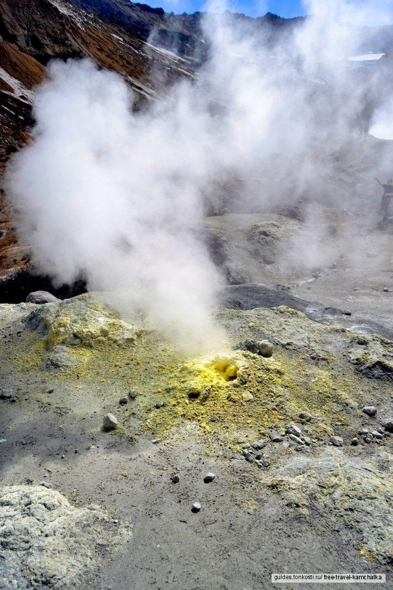 Камчатка. Мутновский вулкан