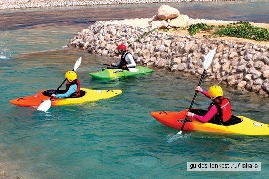 Прогулки на каяках по озеру Хатта
