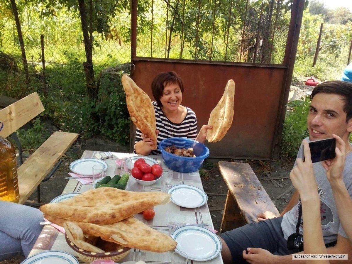 Один день в грузинской семье. Знакомство с традициями и обычаями