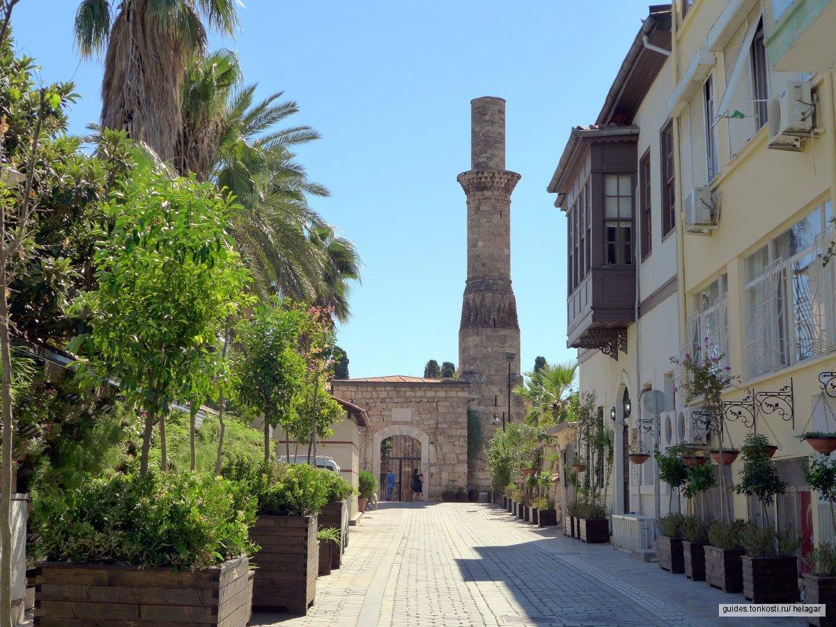 Исторический центр Анталии — от Византии до Турецкой республики
