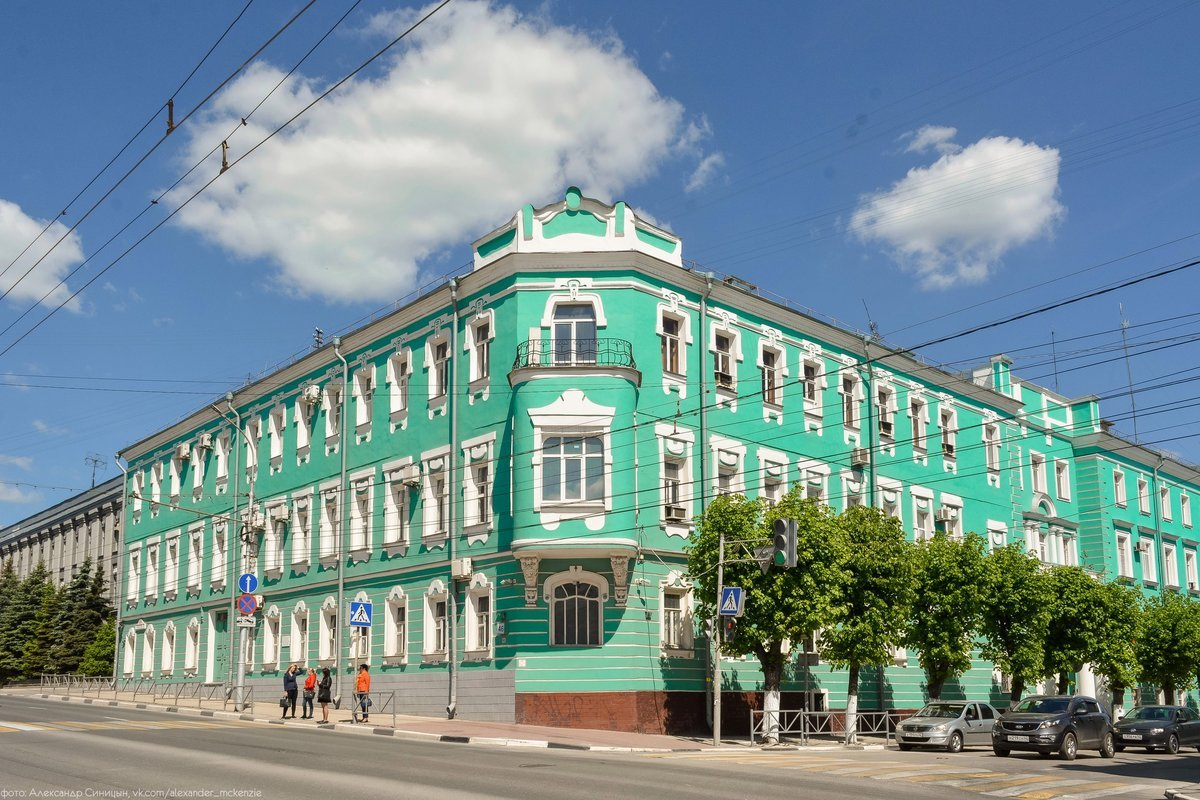 Архитектура 19 века Рязани