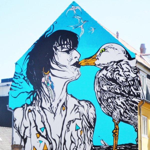 Стрит-арт в Орхусе