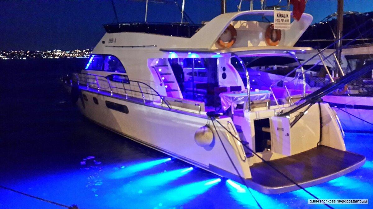 Экскурсия по Босфору: тур на яхте