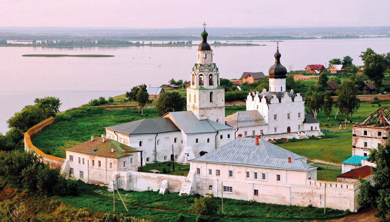 Остров-град Свияжск + Раифский монастырь + Храм всех религий