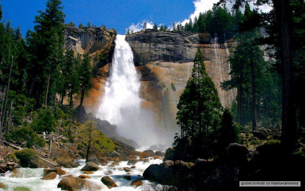 Национальные парки Йосемити и Секвойя. MUST VISIT!