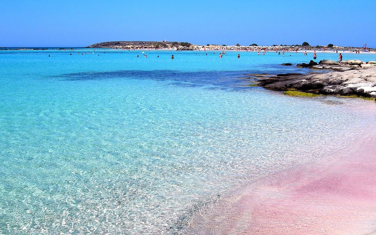 Элафонисси — розовые пески