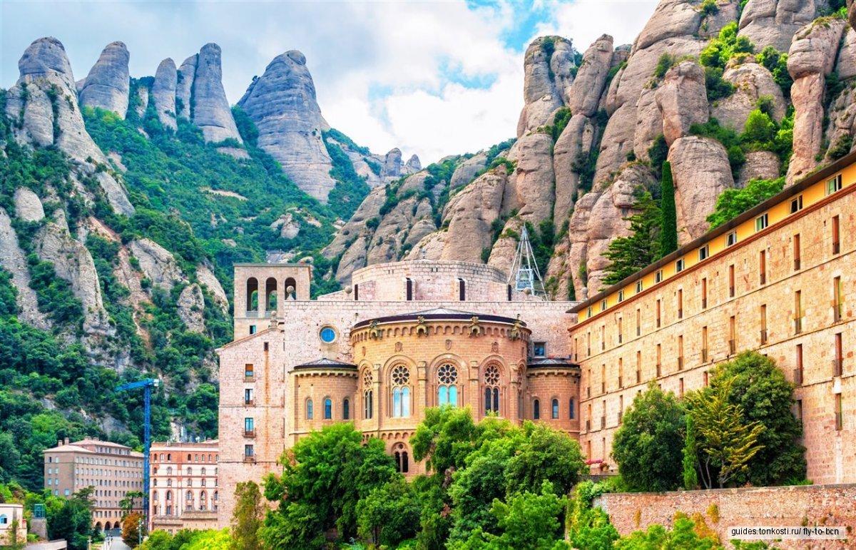 Монастырь Монсеррат (Montserrat) с обедом на старинной оливковой ферме