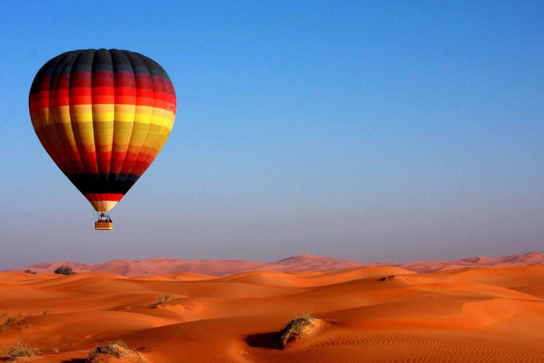 Полет на воздушном шаре в Дубае