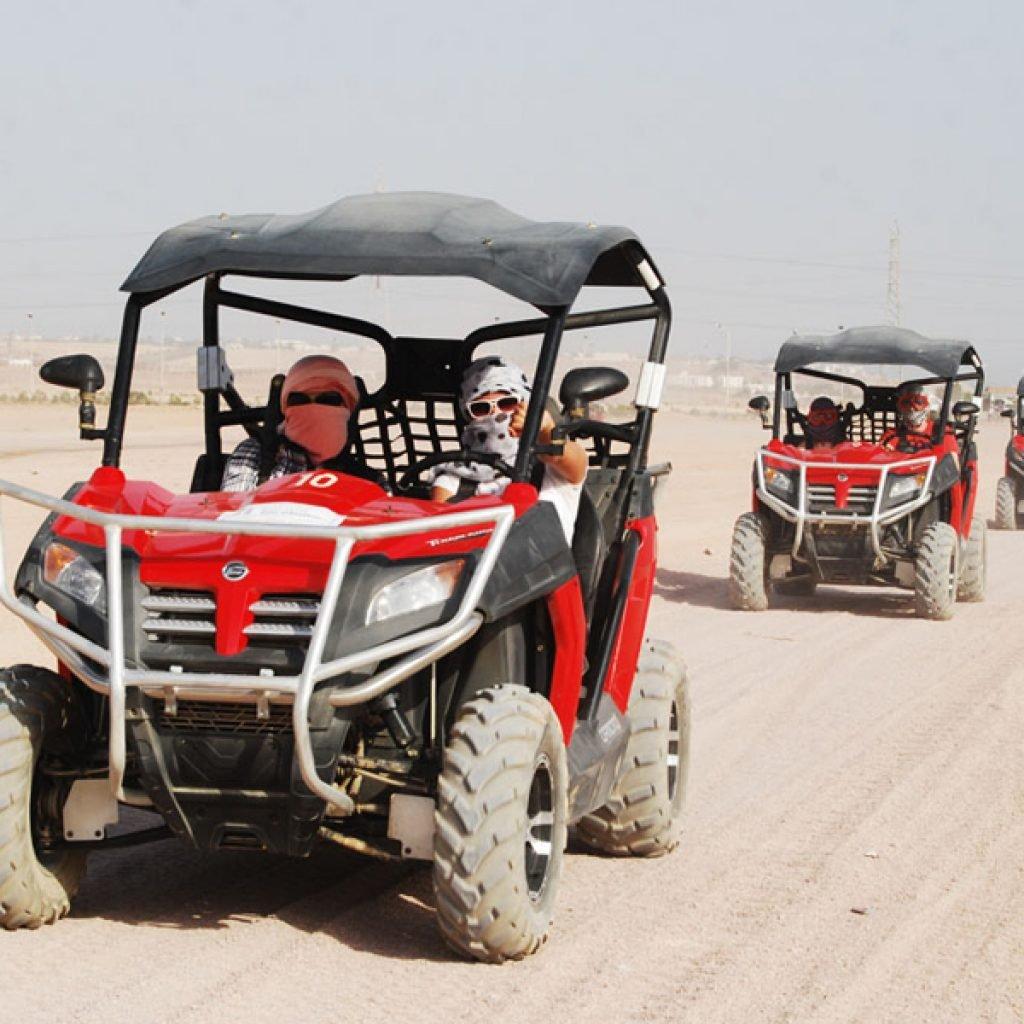 Катание на багги (джипах) по пустыне из Шарм-эль-Шейха
