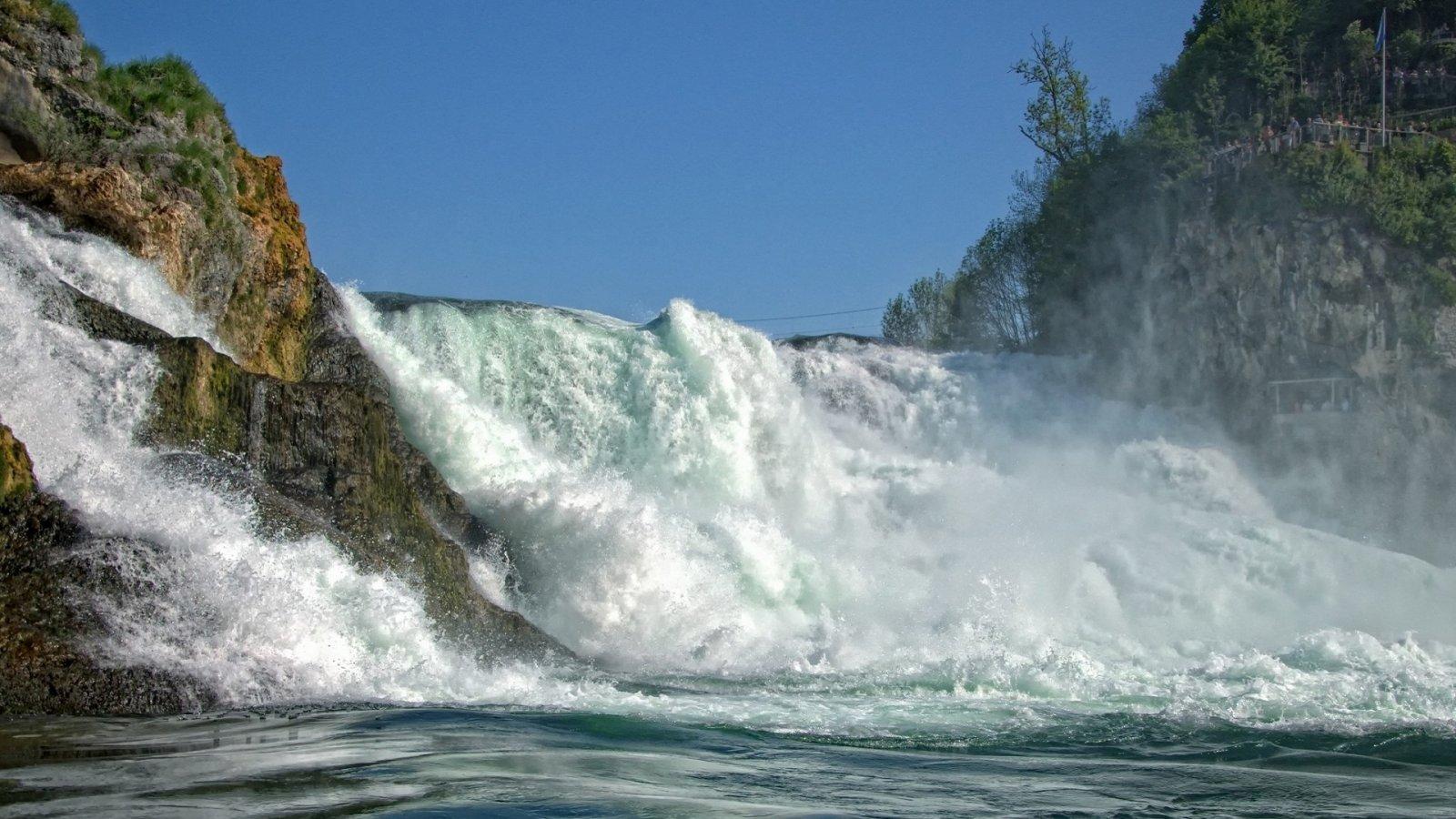 Из Цюриха на Рейнский водопад