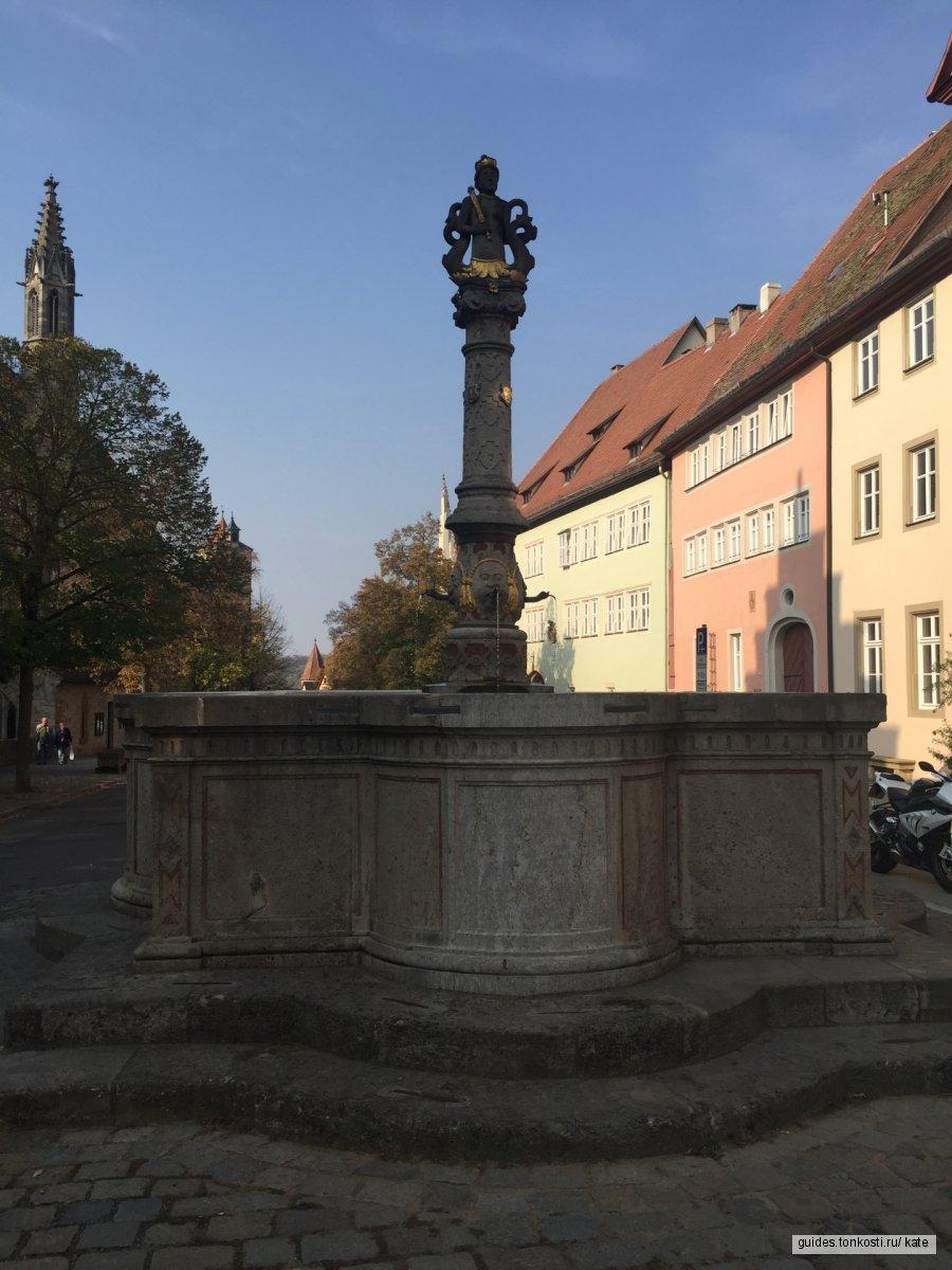 Ротенбург — зачарованный городок