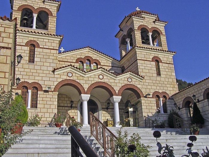 Женский монастырь Малеви и единственный в мире храм Святой Феодоры (Пелопоннес)