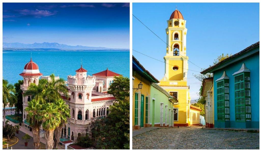 Варадеро — Сьенфуэгос — Тринидад