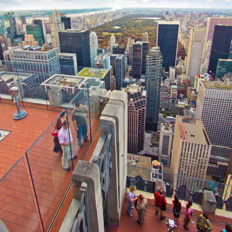 8.1.2. Обзорная экскурсия  + посещение обзорной площадки Top of the Rock или Empire State Building