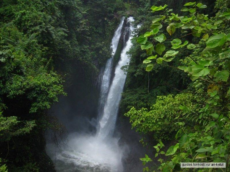 Невероятные водопады Бали