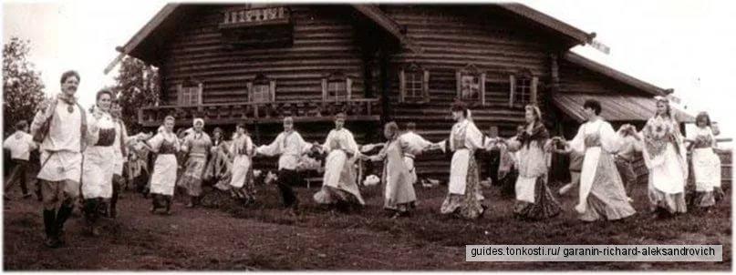 Карельское игрище «Крууга» и народные уличные гуляния