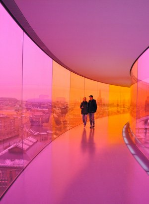 Орхус: прогулка по радуге