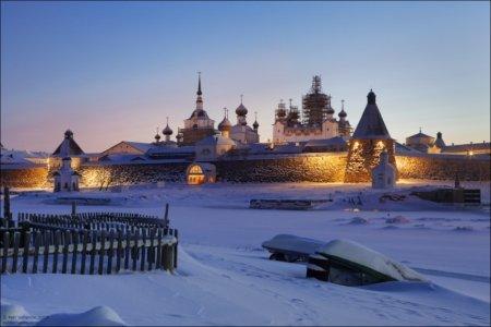 Новый год и зимние туры на Соловках