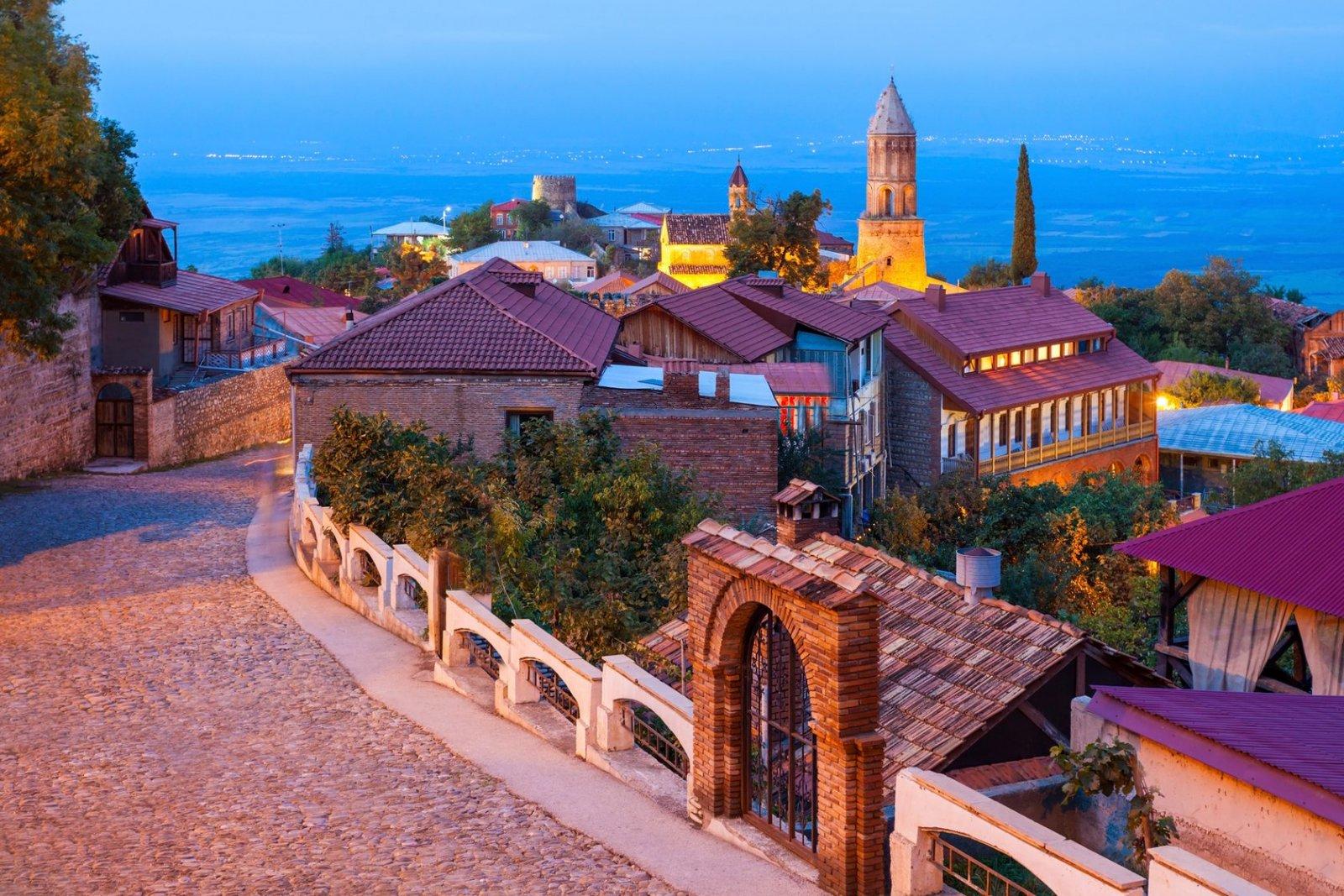 Прекрасная Кахетия. Город любви — Сигнахи и Бодбийский монастырь