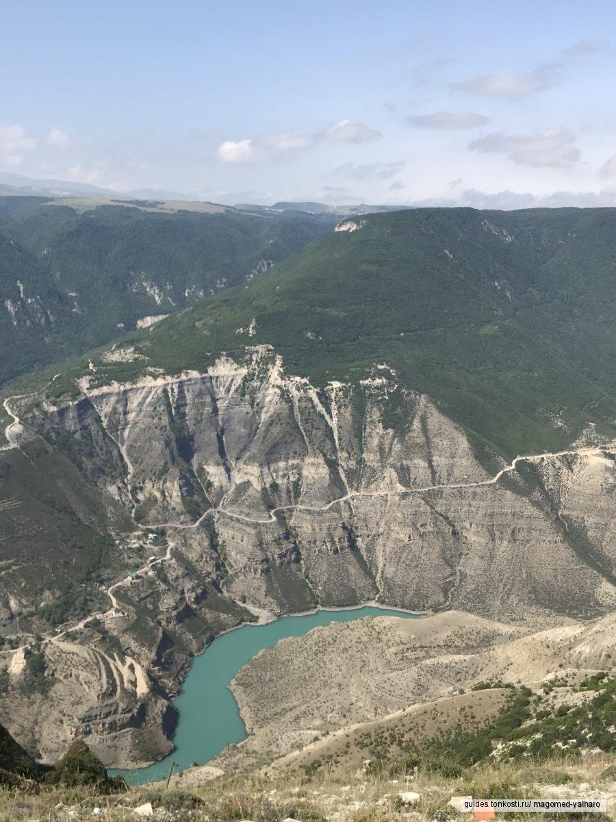 Дагестан. Экскурсия в горы. «Выше орлов. Сулакский каньон»