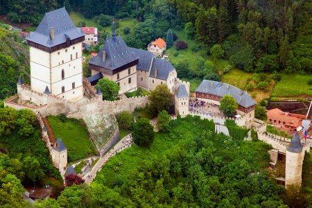 Карлштейн — средневековый королевский замок