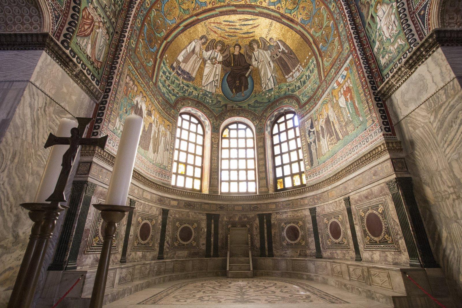 Волшебный фейерверк мозаик Равенны