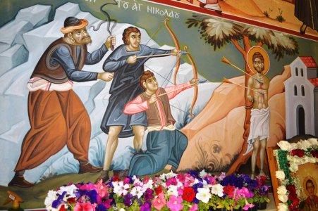 Святой Николай Новый — кровоточащие деревья + Метеоры