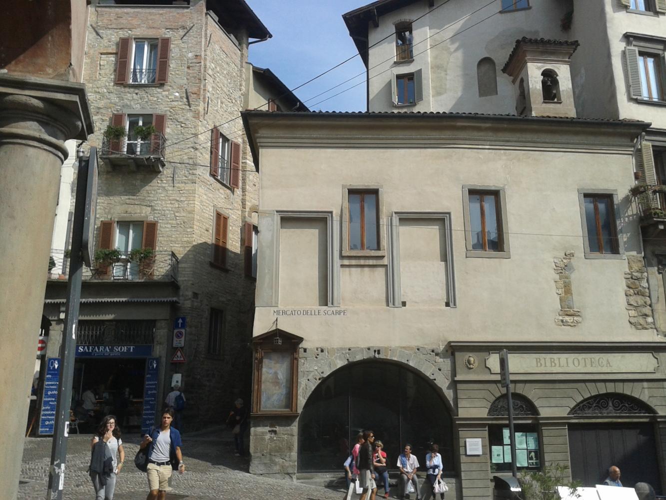 В средневековый Бергамо из Милана. Шаг в прошлое!