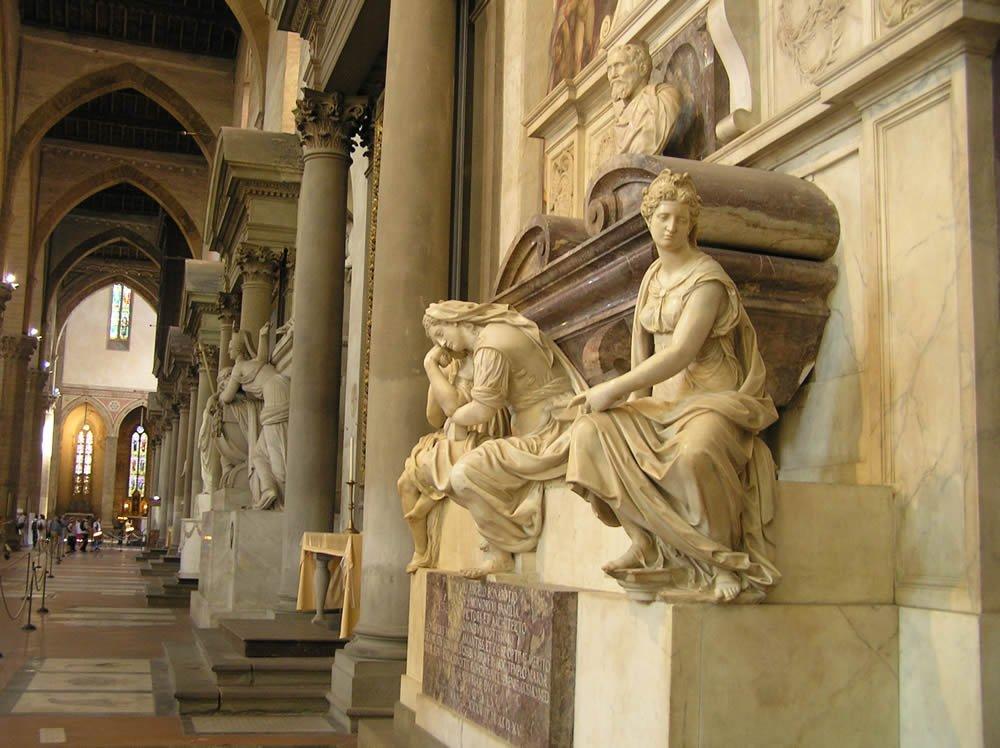Пантеон великих людей — церковь Санта-Кроче