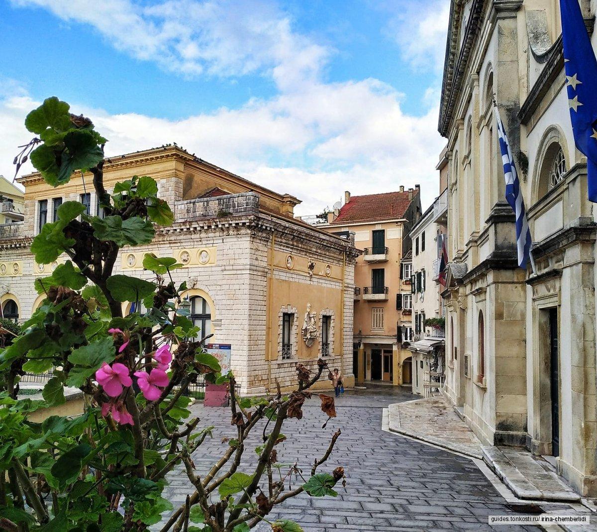 Обзорная экскурсия по городу Корфу