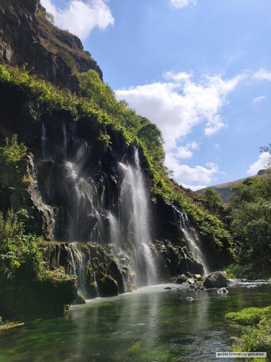 Красоты юга Грузии (каньон Дашбаш и рыбалка на озере Паравани)