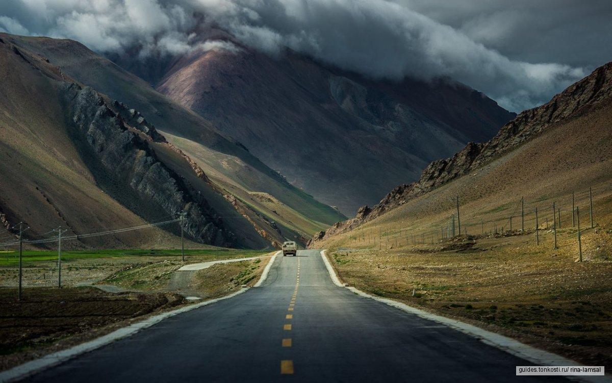 Тибет по земле из Непала, с БЛ Эвереста и Лхасой